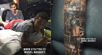 Tatuajes de Famosos : Tatuaje de Neymar