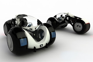 RD Futuristic Car Concept - Peugeot