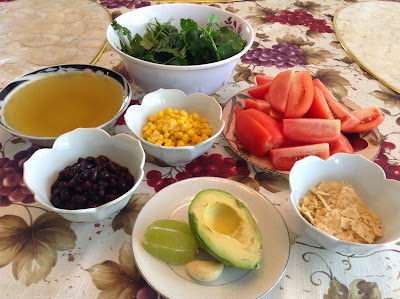 Avocado Tortilla Soup - Vitamix Recipe
