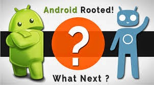 Things to do after rooting Android Phone - Windroid Tricks