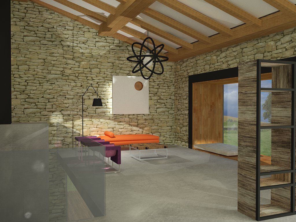 Alicja scigaczewska casa rural rural house dom z kamienia interior design - Casa rural para 2 ...