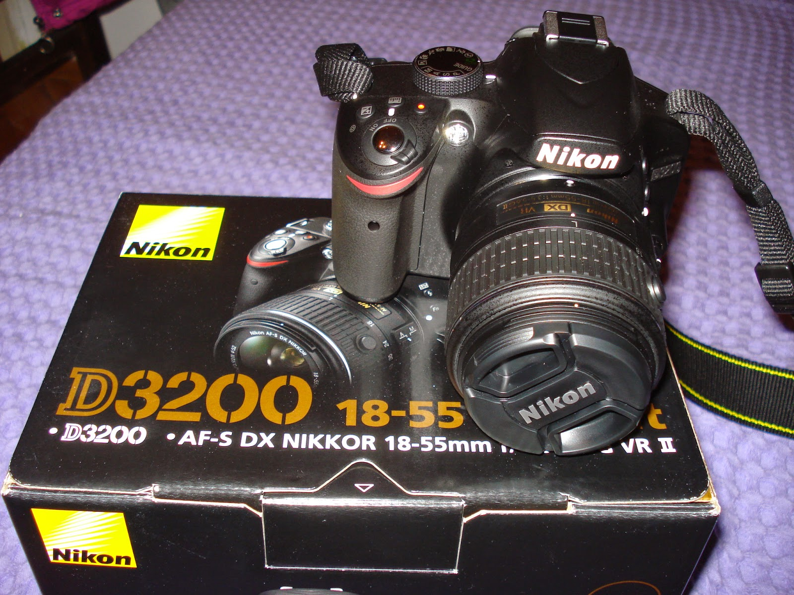 Nikon D3200 DSLR camera - consumer review - Test and Review