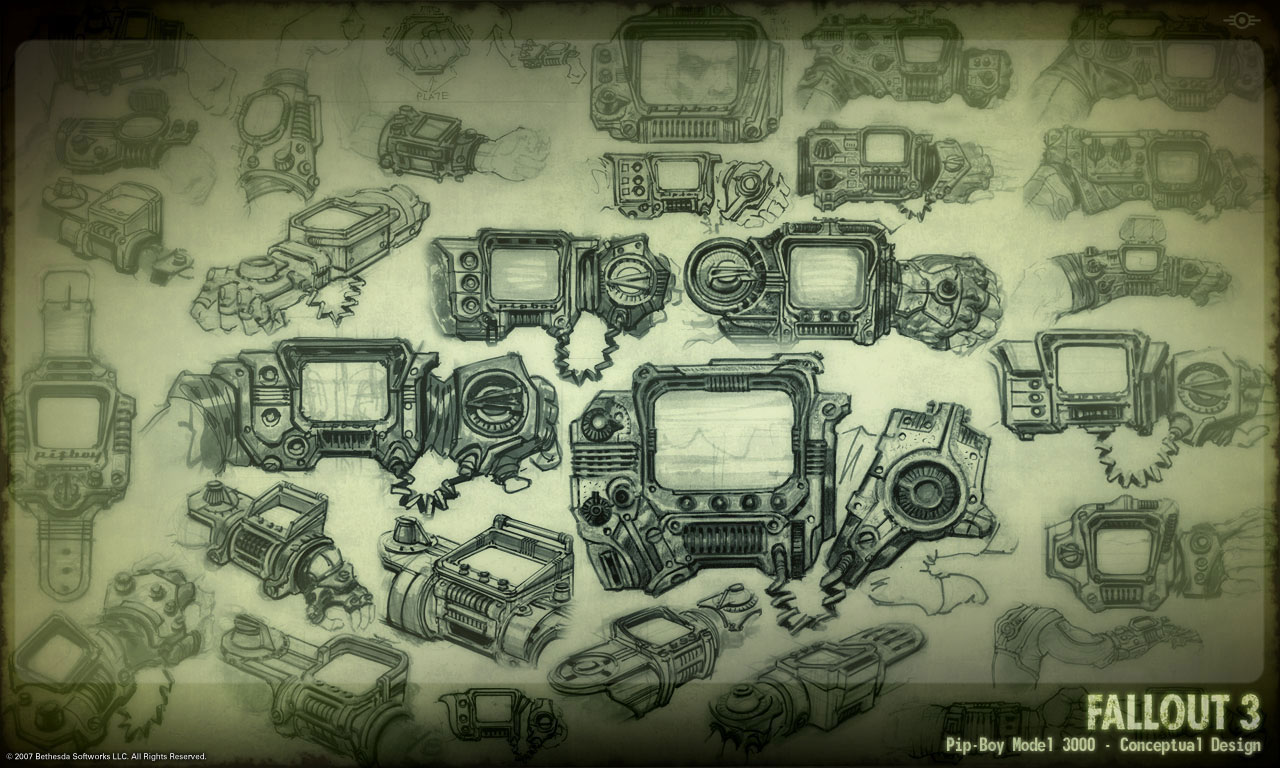 Gamification gamevertising fallout working pipboy 3000 for Conceptual designs