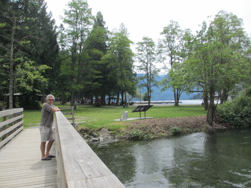 Living the dream thursday june 21 2012 maple bay for Cabins at cultus lake