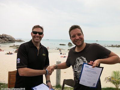 Testimonial from Willem Gladisch of the June 2015, Koh Samui IDC