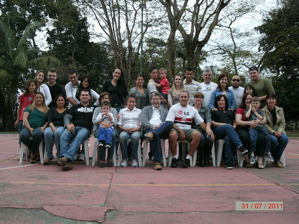 Encontro Barbosa Sandoval em 31/07/2011 em Jacareí , SP