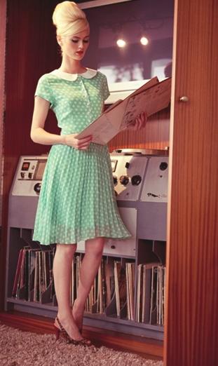 Платья стиля 70-х