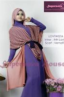 Model Desain Pakaian Hijab Modis