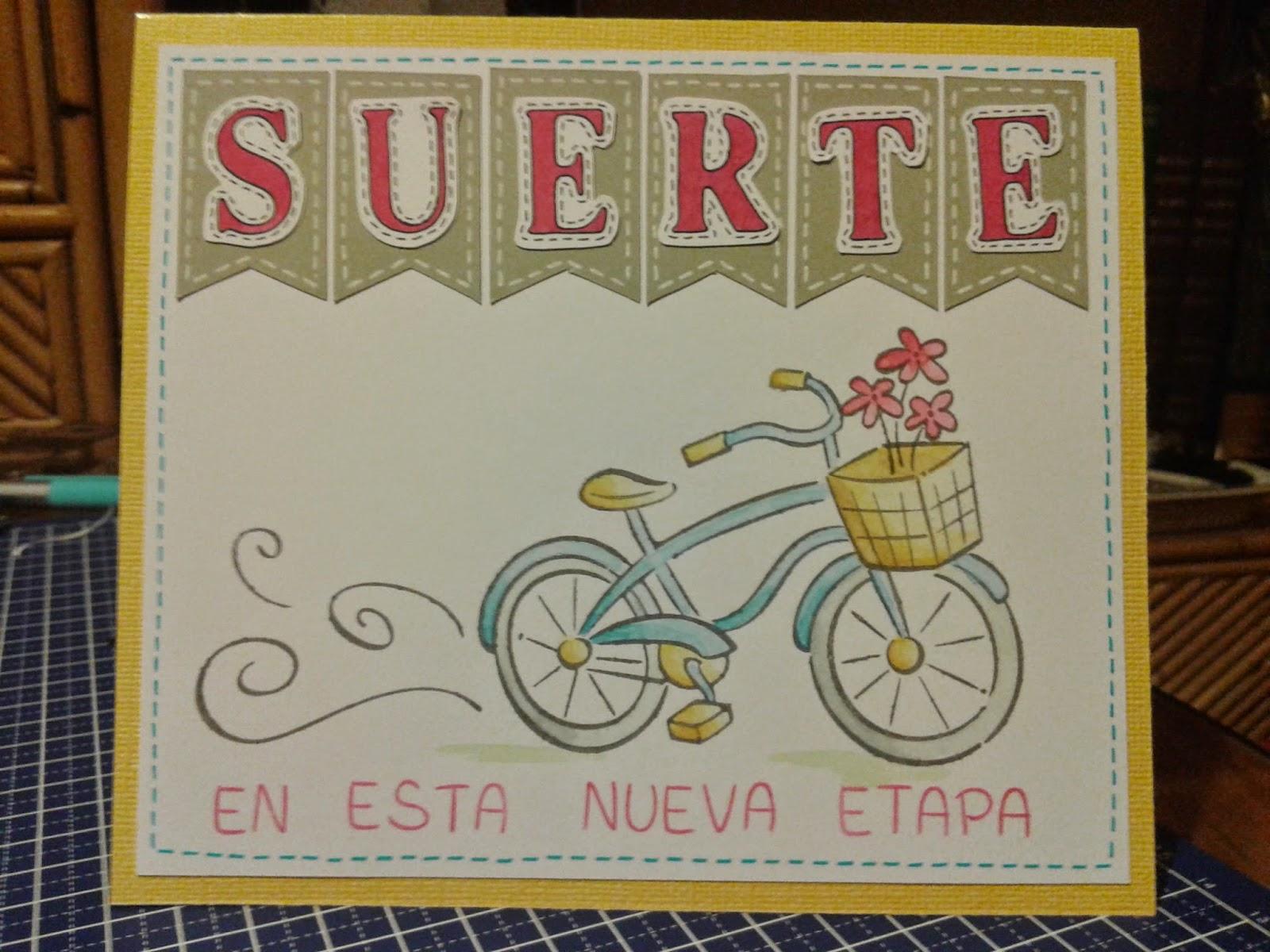 Tamara Corta y Pega: Tarjeta bebé, etiqueta y tarjeta de despedida.