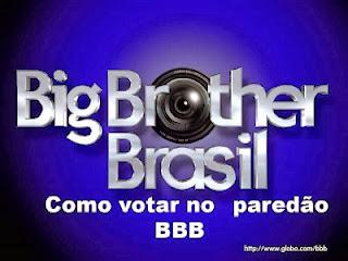 Globo.com/BBB14 - Como votar no Paredão do BBB14 Online
