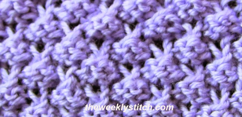 Knitting Blackberry Stitch In The Round : Blackberry Stitch The Weekly Stitch