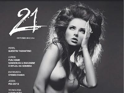 Katarzyna Rzeszowska Revista 21 Outubro 2012