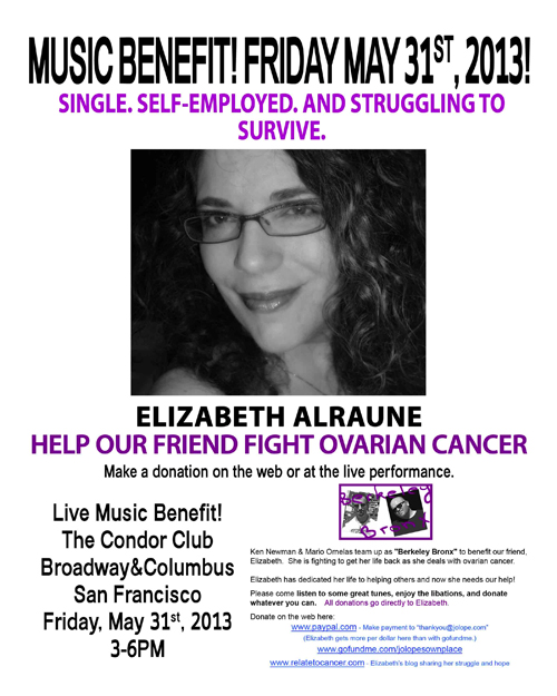 a new me relating to cancer benefit flyer. Black Bedroom Furniture Sets. Home Design Ideas