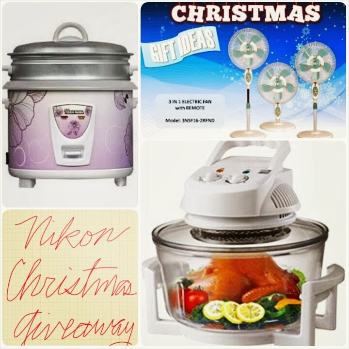 Nikon home appliances christmas giveaway winners mommy