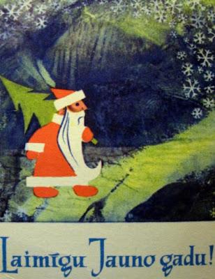 Laimīgu Jauno Gadu! С Новым годом по-латышски.