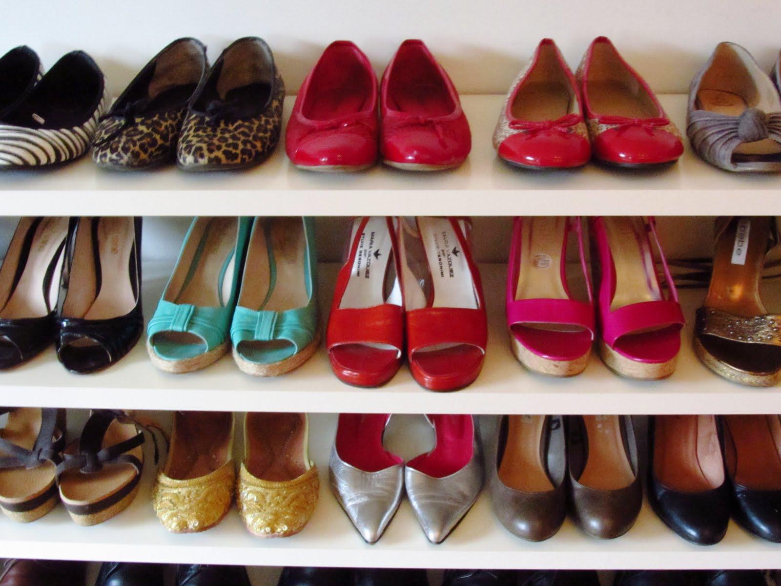 Moda como ordenar tu closet y sacarle provecho a tu ropa - Como guardar zapatos ...