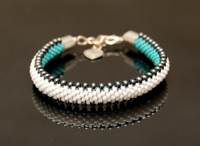 bransoletka koralikowa bead crochet bracelet inati zare 4