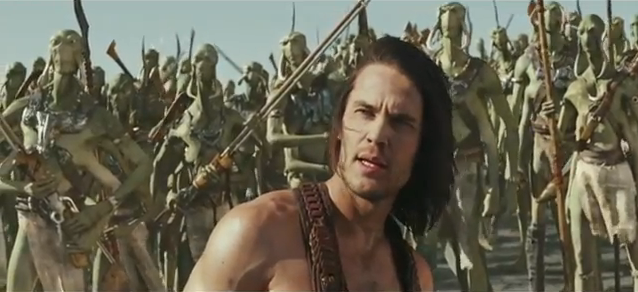 John Carter 2012 movie trailer impressions movie trailer reviews cmaquest