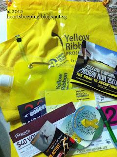 Yellow Ribbon 2012 Race Pack