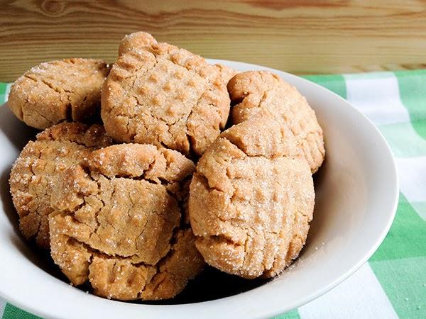 galletas mantequilla cacahuete receta