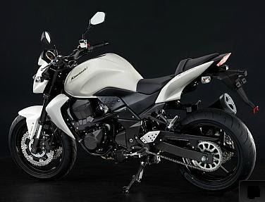 white 2011 Kawasaki Z750