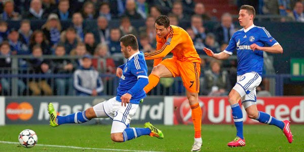 Real Madrid vs Schalke