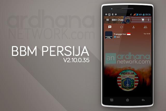 BBM Persija - BBM Android V2.10.0.35