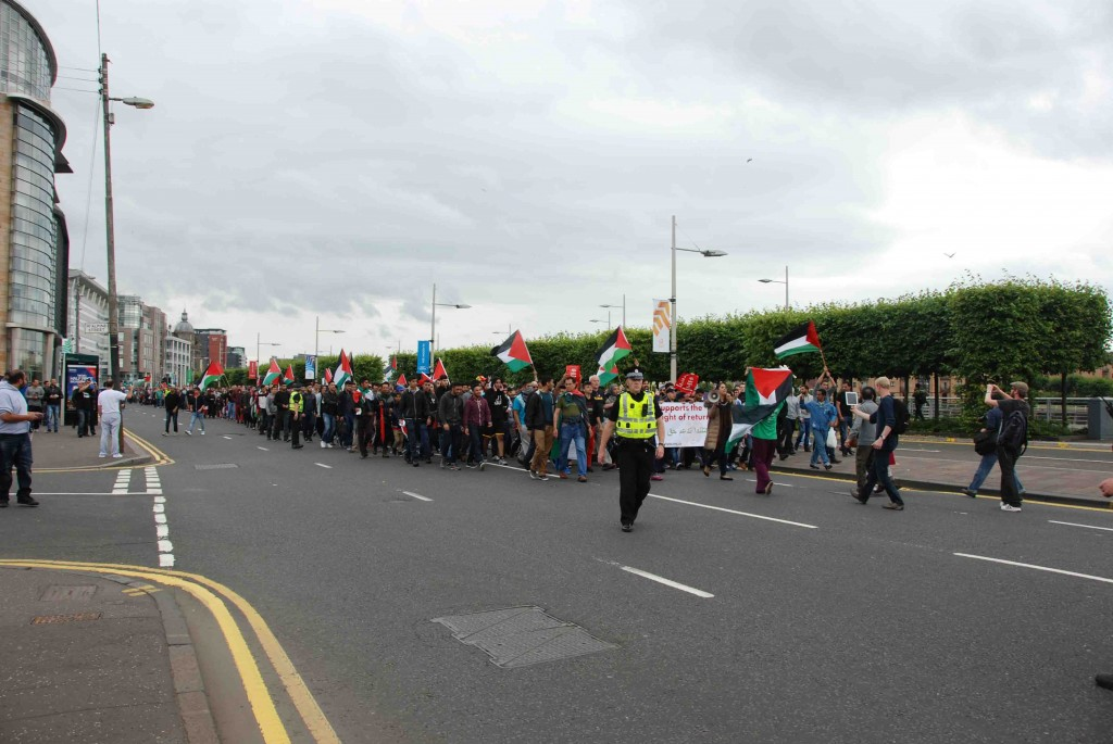 Zenpolitics: Glasgow turns out to support Gaza and shame BBC