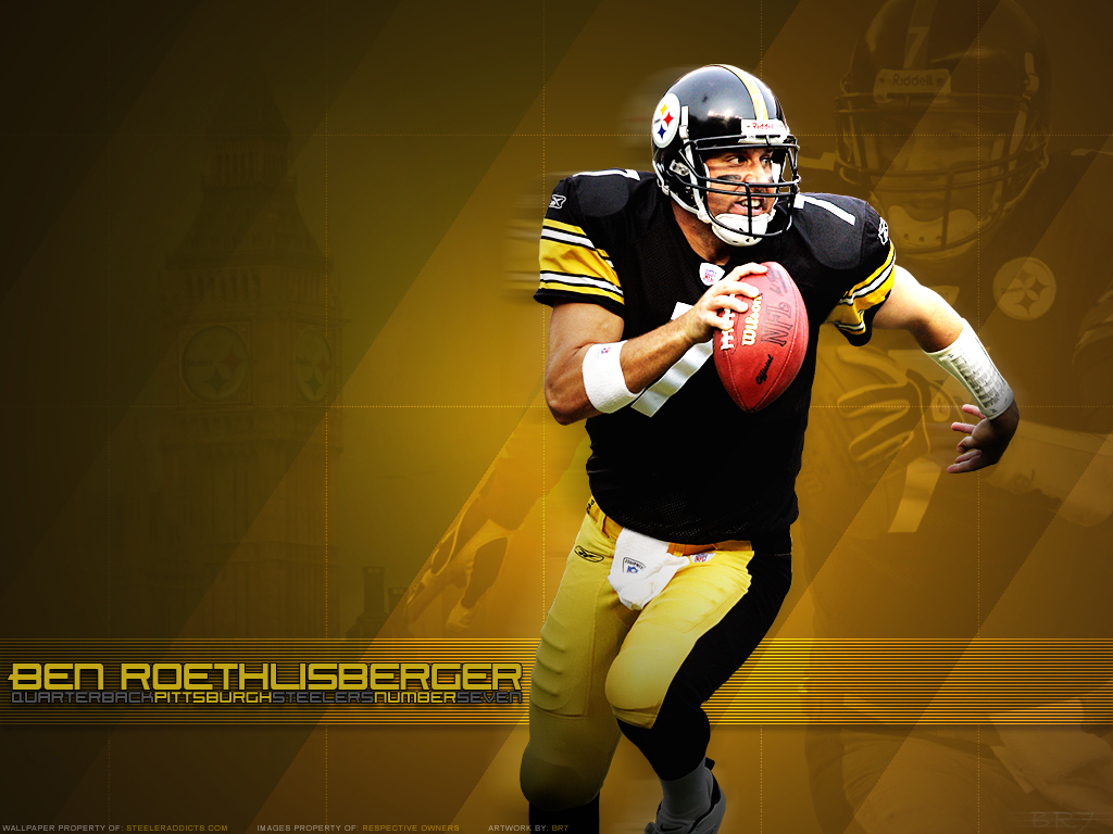Pittsburgh Steeler Ben Roethlisberger