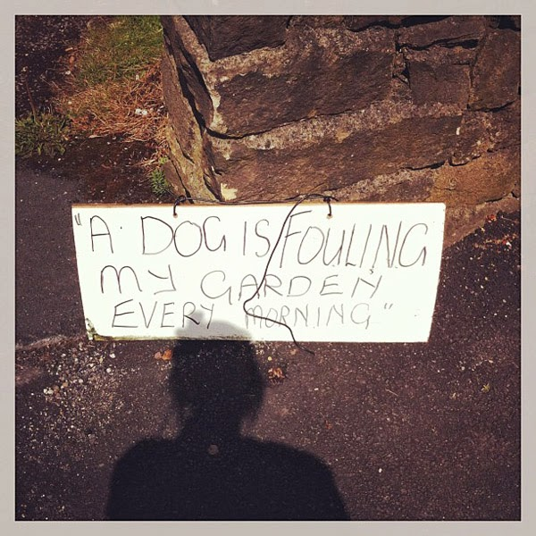 Hilarious sign and misplaced punctuation. Seen on Instagram