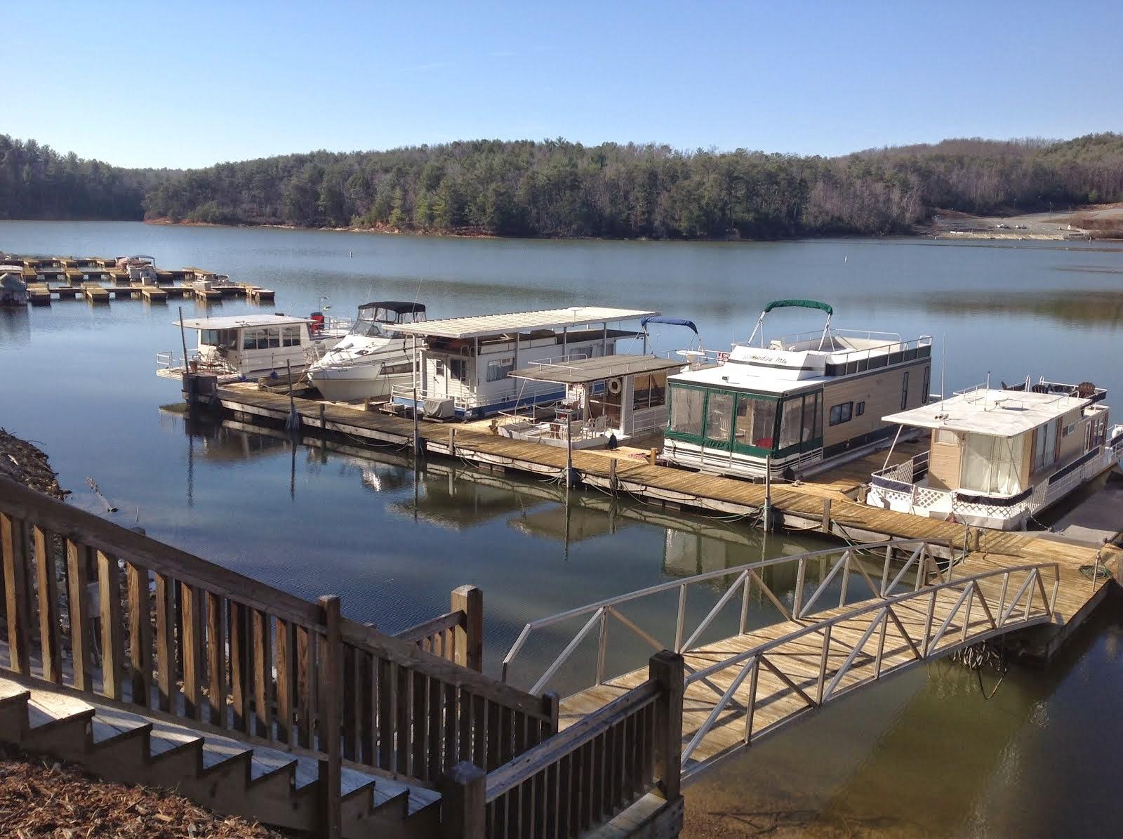 My Houseboat on Lake James North Carolina