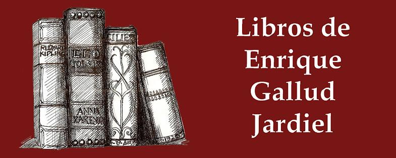 Libros de Enrique Gallud Jardiel