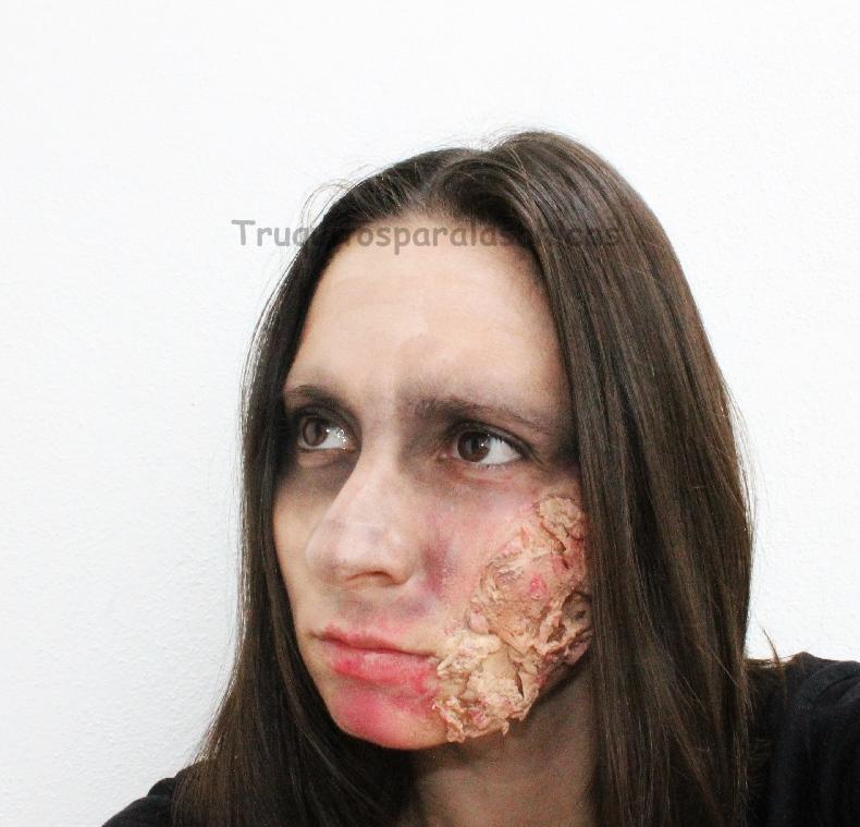 maquillaje facil de halloween