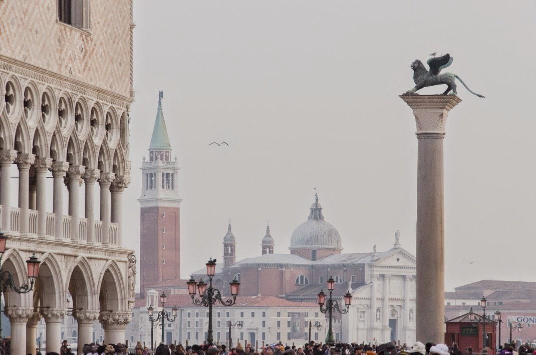 Venise - hiver -  place Saint Marc