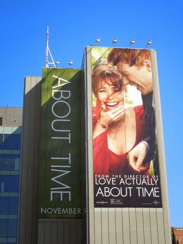 Giant About Time film billboard