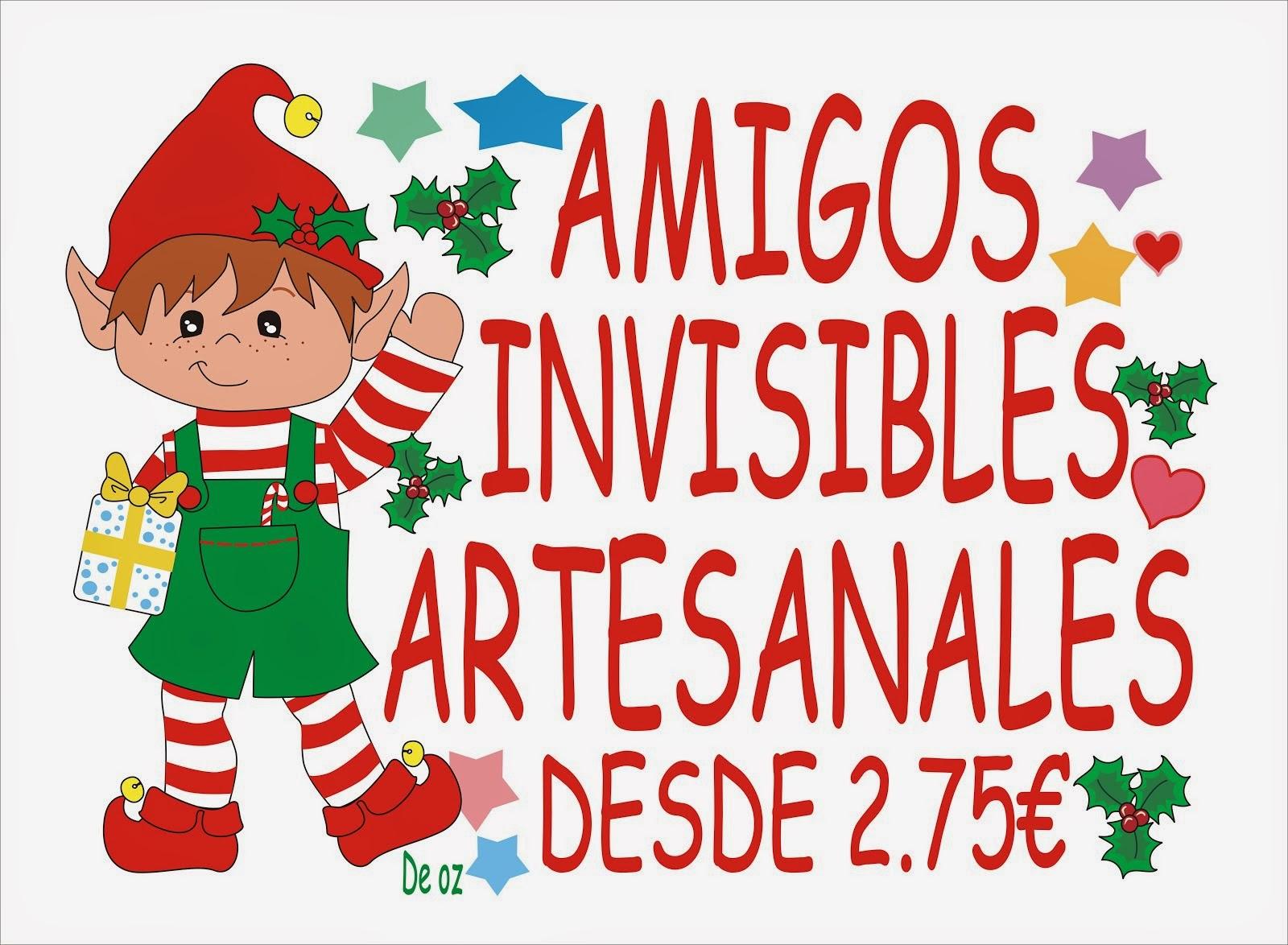 AMIGOS INVISIBLES DESDE 2.75€