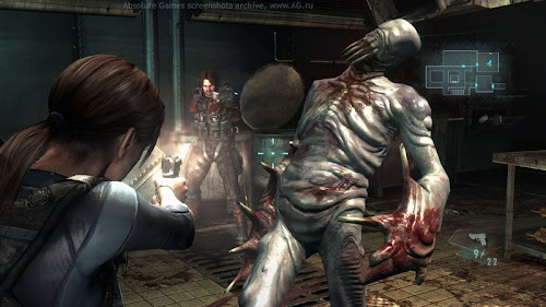 Screen Shot Of Resident Evil Revelations (2013) Full PC Game Free Download At Downloadingzoo.Com