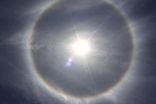 Foto matahari cincin 4 oktober 2011
