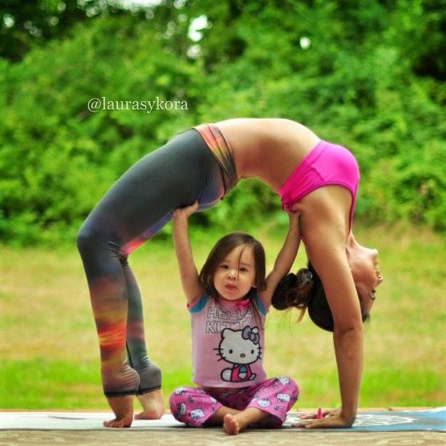 yoga mom instagram