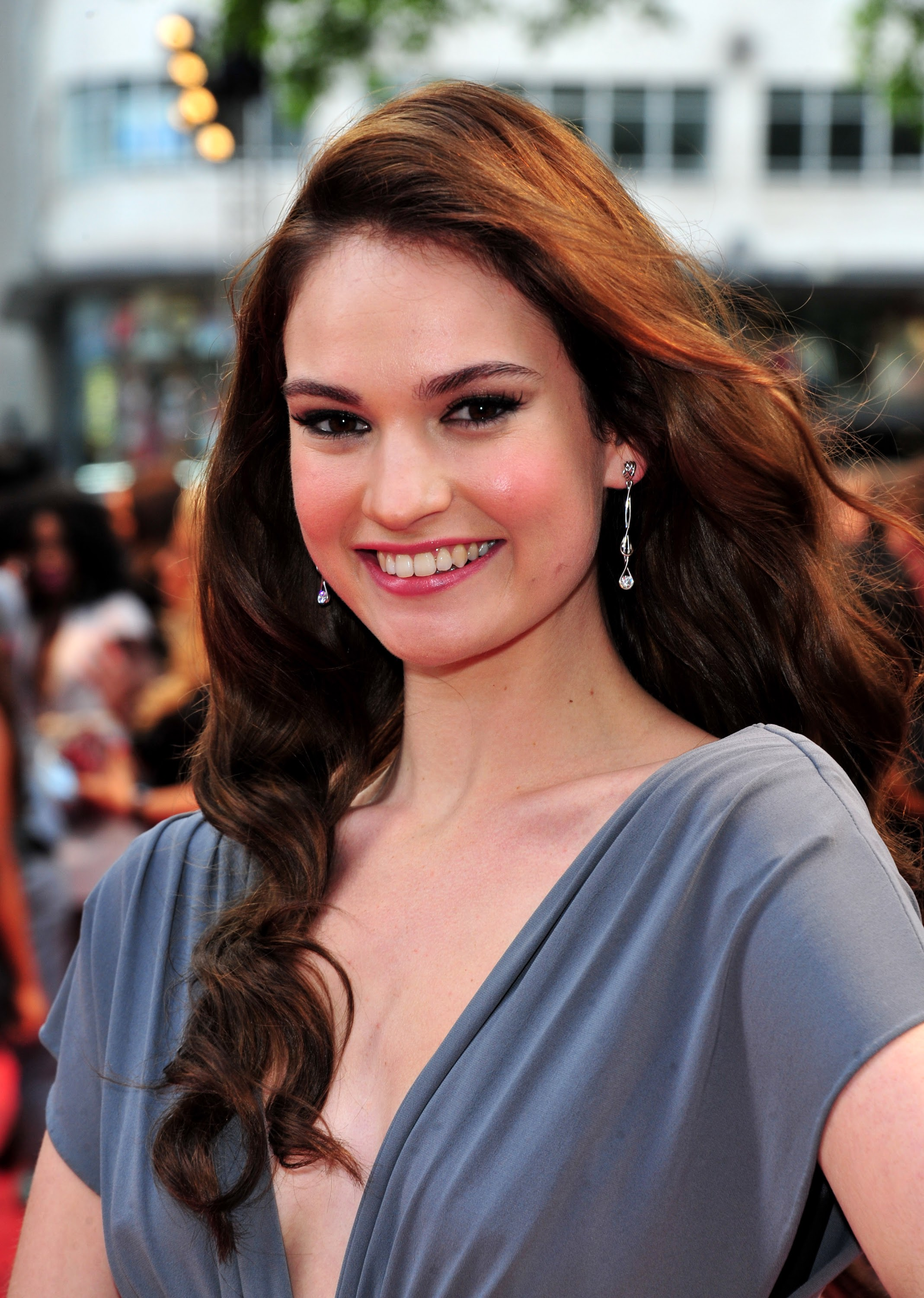Lily James Summary Film Actresses