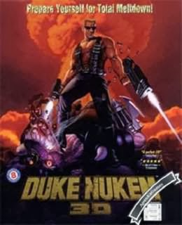 Duke Nukem 3D Cover, Poster