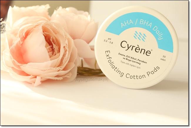 Cyrene Exfoliating Cotton Pads - Yüz Temizleme Pedleri