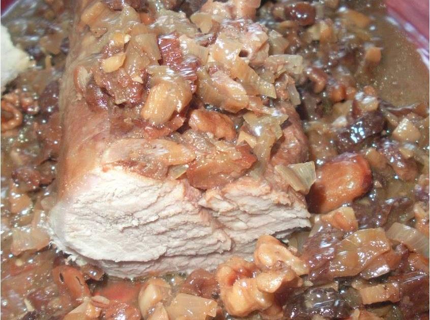 Flo en cuisine filet mignon de porc sauces noix noisettes - Cuisiner le filet mignon de porc en cocotte ...