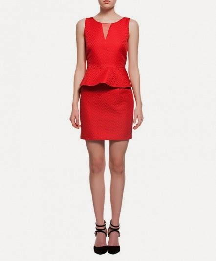 koton-kırmızı-elbise
