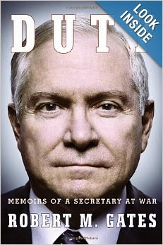 http://www.amazon.com/Duty-Memoirs-Secretary-at-War/dp/0307959473/ref=sr_1_1?s=books&ie=UTF8&qid=1390165088&sr=1-1&keywords=duty+robert+gates