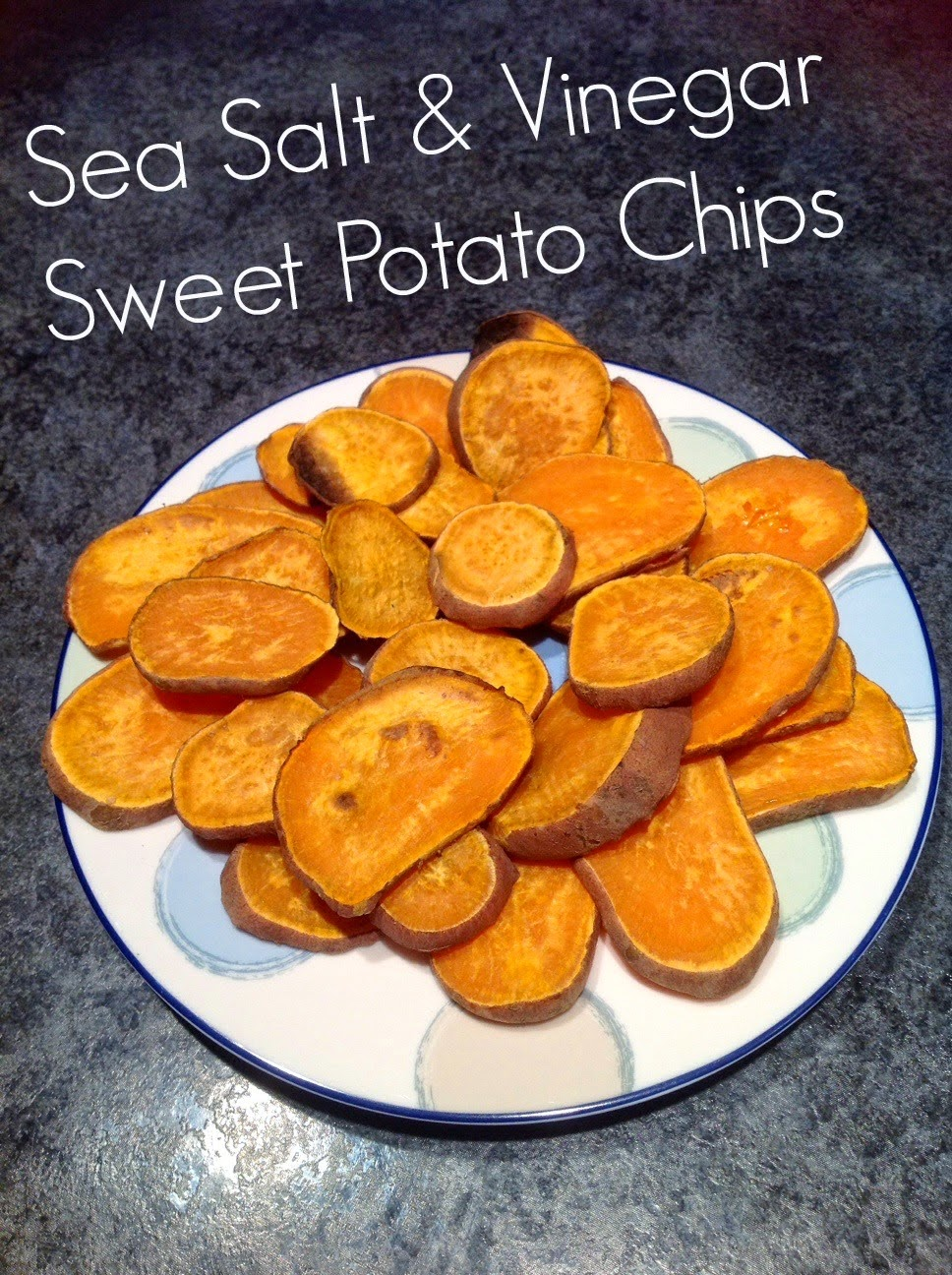 Sweet Potato Chips, Healthy 4th of July Recipes