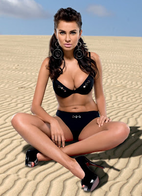 Natalia Siwiec looking hot in Ewa Bien bikini photoshoot