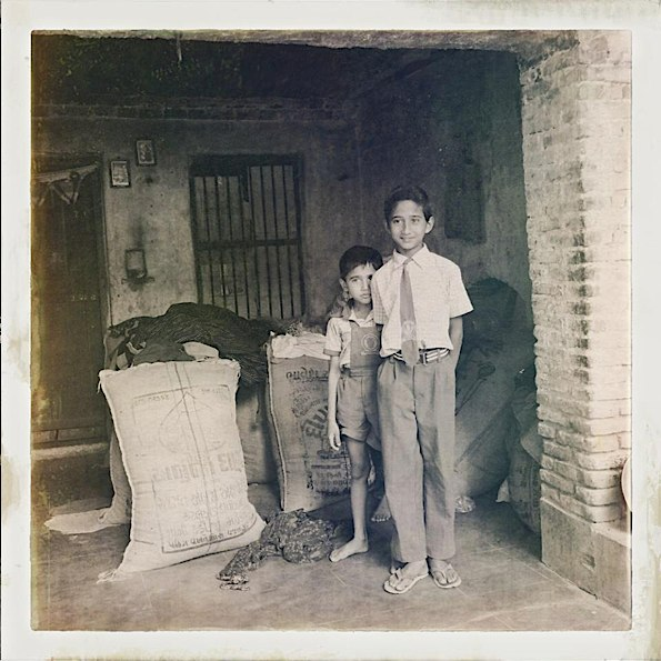 Boys at home in Narlai © Connie Gardner Rosenthal