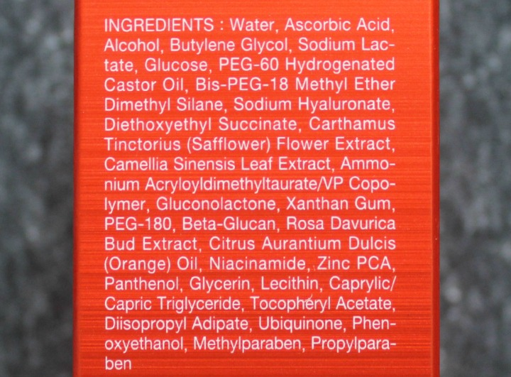 OST C20 Original Pure Vitamin C20 Serum Vitamin C ingredients