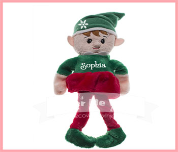 Christmas Girl Elf Plush